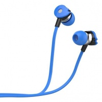 Astrum Wired Stereo Earphones with In-line Mic - Blue Photo