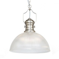The Lighting Warehouse - Pendant Heritage 19439SS Satin Silver Photo