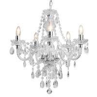 The Lighting Warehouse - Chandelier Crystal Princess 5 Photo