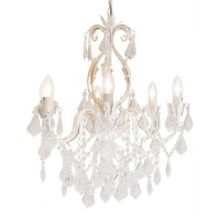 The Lighting Warehouse - Chandelier Crystal Meadow 6 Photo