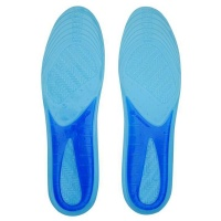 Slazenger Men's Perforated Gel Insoles - Blue Photo