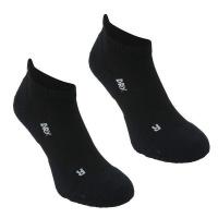 Karrimor Men's 2 Pack Running Socks - Black - 12 Photo