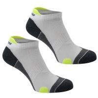 Karrimor Men's 2 Pack Running Socks - White & Fluo - 12 Photo