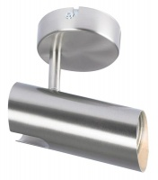 Bright Star Lighting - Single Satin and Polished Chrome Spotlight Photo
