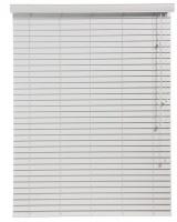 Decor Depot 50mm S-Bass Wood Venetian Blind White 1800mm X 2200mm Photo