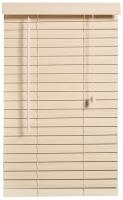 Decor Depot 50mm Fauxwood Venetian Blind Limewash 1600mm X 2200mm Photo