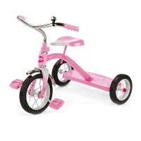 """Radio Flyer Classic Pink 10"""" Tricycle Photo"""