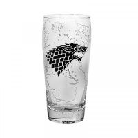 Game Of Thrones: Glass - King In The North Pilsner Glass Photo