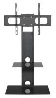 Cantilever - Swivel TV LED LCD & Plasma Screen Stand with One Shelf Photo