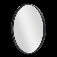 Deep Frame Round Mirror Photo