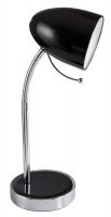 Bright Star Lighting - Polished Chrome Desk Lamp With Gooseneck Arm Photo