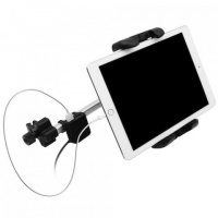 MACALLY Adjustable Car Seat Headrest Pro Mount for iPad with Charger Photo