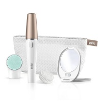 "Braun FaceSpa 851V - 3"" 1 Facial Epilator & Cleansing Brush System Photo"