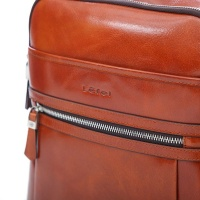 Soul Matters Lefel Genuine Leather Backpack - Tan Photo
