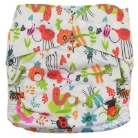 Fancypants All-in-One Cloth Nappy - Bugs Photo