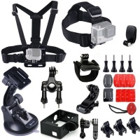 Zonabel 25-in-1 Action Camera Gear Accessory Kit for GoPro Photo