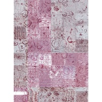 Waltex Area Rug Abstraction Blush Photo