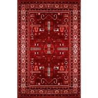 Waltex Area Rug Persian Red Photo