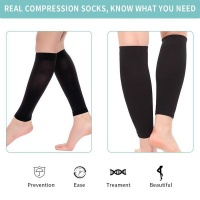 One Pair Calf Compression Sleeves Photo