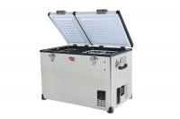 SnoMaster 72L Dual Compartment Fridge Freezer - Silver Photo