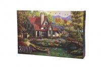Riverside Cottage 2000 piece puzzle Photo
