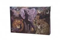 Big Five of Africa 1500 piece puzzle Photo