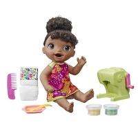 Baby Alive Snackin' Shapes: Black Hair Baby Doll Photo