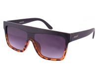 Bad Girl Women's Negotiator Sunglasses - Brown/Black Photo