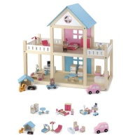Wooden Dollhouse Photo