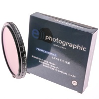 E-Photographic 62mm multicoated HDND2-ND400 CPL & UV Filter Kit Photo