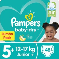 Pampers - Baby Dry - Size 5 Jumbo Pack - 48 Nappies Photo