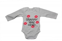 Granny Was Here! - Baby Grow Photo