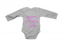 Pretty Stinkin' Cute! - Baby Grow Photo