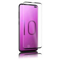 Samsung OptiGuard Glass Curve Black - Galaxy S10 - NEW Photo