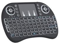 Mini Wi-Fi- Multimedia Keyboard With Touchpad & Backlit Photo