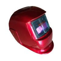 Pinnacle Welding Pinnacle Red Decasola Auto Darkening Welding Helmet Non-Adjustable Photo