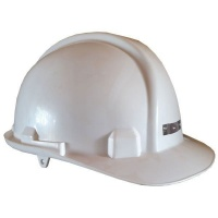Pinnacle Welding Safety Hard Hat with Cap Lamp Bracket - White Photo
