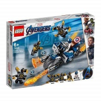 LEGO Marvel Super Heroes Captain America - Outriders Attack Photo