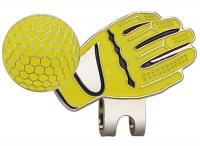 Yellow Glove Hat Clip Photo