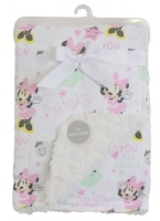 Minnie Mouse Sherpa Soft Reversible Blanket Photo