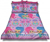 Shimmer & Shine 'Flamingo' Duvet Cover Set Photo