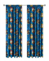 Paw Patrol 'Sketchy' Unlined Curtains Photo