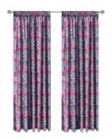 Shimmer & Shine 'Flamingo' Unlined Curtains Photo