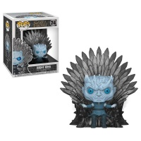 Funko Pop! Deluxe:Game Of Thrones S10-Night King Sitting On Throne Photo