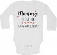BTSN - Mommy I love you happy mothers day baby grow - L Photo