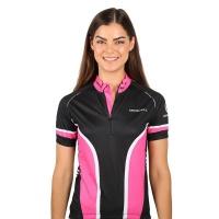 Merrell Eden Cycling Jersey - Black / Pink Photo