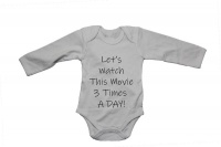 Let's Watch this Movie 3 Times a Day!! - Baby Grow Photo
