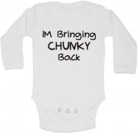 BTSN -I'm Bringing Chunky Back Baby Grow - L Photo