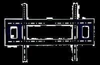 """ACDC Tiltable TV bracket - 40-65"""" - Dynamics Photo"""