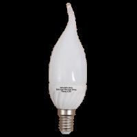 5 Watt LED E14 Flame Bulb 4000k Photo